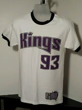 Sacramento Kings #93 Ron Artest Custom made Screen print tshirt Adult Size Small