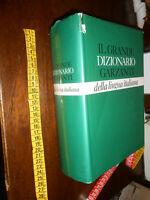 LIBRO: GG 1987 IL GRANDE DIZIONARIO GARZANTI DELLA LINGUA ITALIANA