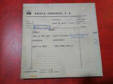 MOTORHEAD The Young & Moody Band SALLY OLDFIELD REEL TO REEL TAPE 3 TRACK ARIOLA