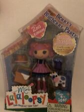 Lalaloopsy Mini Doll Berrys Blueberry Party #3 of Series 6 Retired Mga New