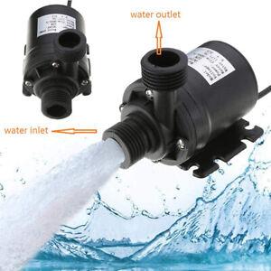 Mini Lift 5M 800L/H 12V Brushless Motor Submersible Pool Water Pump Ultra Quiet