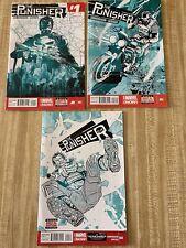 Punisher Vol 9 #1 - #2, #4 by Nathan Edmondson (2014, Marvel)
