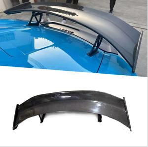 For Porsche 718 981 987 Boxster Cayman Carbon Fiber Rear Spoiler Wing