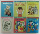 Vtg 70's Whitman Nontoxic BABY'S FIRST BOOKS Wipes Clean Disney Florence Winship