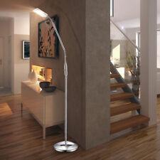 Elegante LED Steh Lampe 5 Watt Haus Flur Beleuchtung Lese Stand Strahler Alu