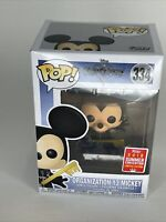Funko Pop Kingdom Hearts Unhooded Organization 13 Mickey #334 SDCC Exclusive NEW