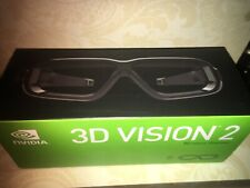 NVIDIA 3D VISION 2 WIRELESS GLASSES 942-11431-0106-001 NEW COMPUTER PC RARE DEAL