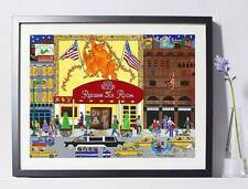 "Russian Tea Room NYC Art Reproduction 8x10""  Pat Singer's New York - Home Decor"