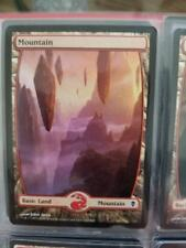 1x MTG NM Mountain (242) - Full Art Zendikar John Avon