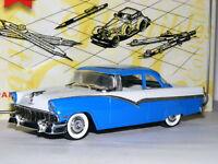 Matchbox Collectibles DYG12-M 1956 Ford Fairlane 2-Door Sedan Blue/White 1/43