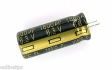 20 Pc 1500uf 6.3V Electrolytic Capacitor 8x20 mm for Computer MotherBoard Repair