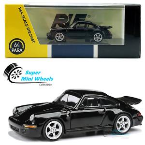 PARA64 - Porsche RUF CTR Yellowbird 1987 - Black - LHD - 1:64