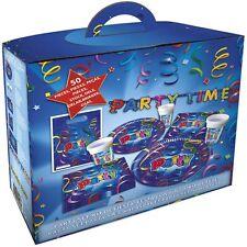 "Party-Box 50-teiliges Set ""Luftschlange"" Party Time Geburtstag Silvester PROCON"