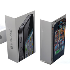 NEW CON Apple iPhone 4S 8GB 16GB 32GB 64GB Factory Unlocked Mobile Smartphone UK