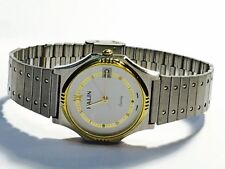 Vintage Halin Men's  Quartz TwoTone Watch V-elegant Swiss Parts(CQ712H)
