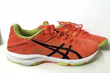 Asics Gel-Solution Speed 3 Youth Round Toe C606Y Orange Tennis Shoe Size 5.5
