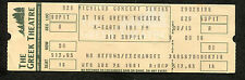 1981 Air Supply Unused Full concert ticket Greek Theatre The One That You Love