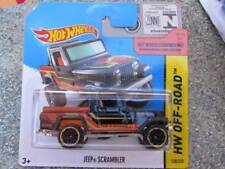 Hot Wheels 2014 #138/250 Jeep Scrambler noir HW Hors-Piste