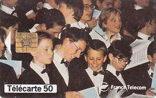 France télécarte 50  France télécom mécène de la musique Maitrise Hauts de Seine
