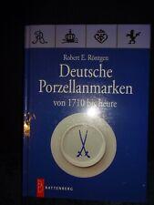 Deutsche Porzellanmarken - Robert E. Röntgen - 2007 - deutsch - NEU