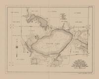 1915 Map of Silver Lake Worth County Iowa