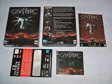 GOTHIC 1   PC Erstausgabe  deutsch  WIN 98/2000  USK 12 #
