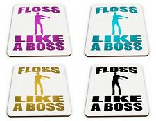 Floss Like A Boss Funny Novelty Gift Glossy Mug Coaster Variation