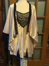 Cosmopolitan  Nightgown And Bed Jacket Sissy Lingerie Size M