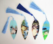 Studio Ghibli Totoro No-face Notebook Novelty Natural Leaf Veins Bookmark Gift