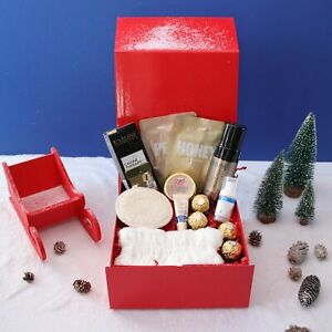 Luxury Self Care - Home Spa Christmas Pamper Hamper Gift Box for Her