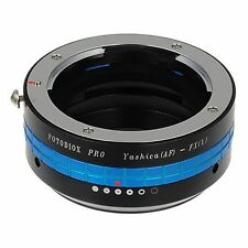 Fotodiox Objektivadapter Pro Yashica AF Linse für Fujifilm X Kamera