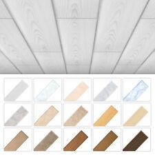 2qm Deckenpaneele 100x16,7cm XPS Styropor Holzoptik Wand Paneele Feuchtraum