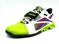 Reebok Crossfit U-Form Womens Size 8.5 Green White Cross Training Workout Shoes