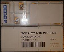 SECO XOMX10T308TR-M09,F40M - 1 Factory pack (10pcs)
