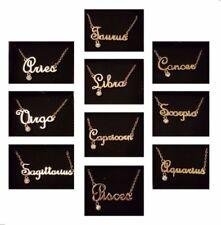 Collares y colgantes de bisutería cadena de color principal oro cristal