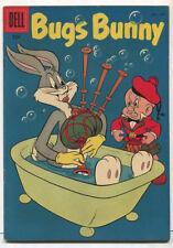Bugs Bunny #52 VG The Harebreadth Hare 1957  Dell Comics CBX2A