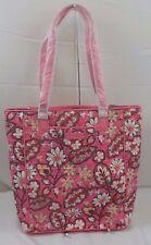 NEW NWT VERA BRADLEY Crosstown Tote Blush Pink Bag Laptop