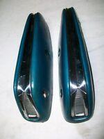 1963 1964 Ford Galaxie XL Interior Blue Arm Rests LH RH Rear Pair Mercury
