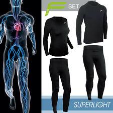 F-LITE Superlight SET Shirt Hose Funktionsunterwäsche First Layer Skiunterwäsche