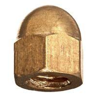 20pcs M5 Thread Dia Dome Head Brass Cap Acorn Hex Nuts C4A9
