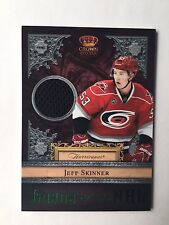 2011-12 Crown Royale Jeff Skinner Lords Of The NHL Jersey Card #24