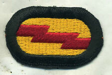 Vietnam Era US Army 75th Ranger Regiment Airborne Oval Patch Cut Edge