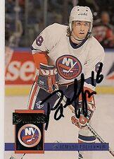 Zigmund Palffy New York Islanders 1994 Donruss Hand Signed Card