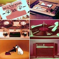 RCA Victor Stereo Phonograph 4 Track Tape 1950s Vintage Promotional Films DVD