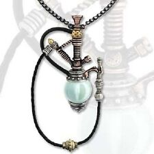 ALCHEMY HOLMES BAKER PATENT KINETIC NARGILE NECKLACE STEAMPUNK PEWTER GOTHIC EMO