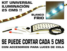 Tr3ns Kit iluminación Universal (DC, AC y DCC). Blanco Frio. 25 cms. Cortable.