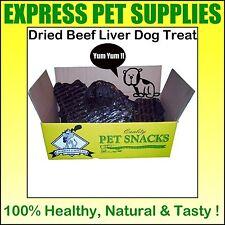 250g Dried BEEF LIVER Dog Treat Reward Chew Quality Healthy Natural