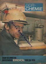 "BERLIN, Prospekt 1969, DDR, Informations-Illustrierte ""Chemie in der Technik"""