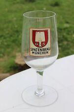Ancien verre à bière - SPATEN Bräu München - GS - 0,3 L