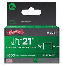 Arrow - JT21 T27 Staples 10mm (3/8in) Box 1000
